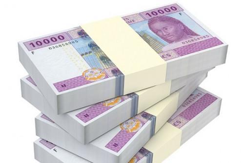 FCFA Bank notes