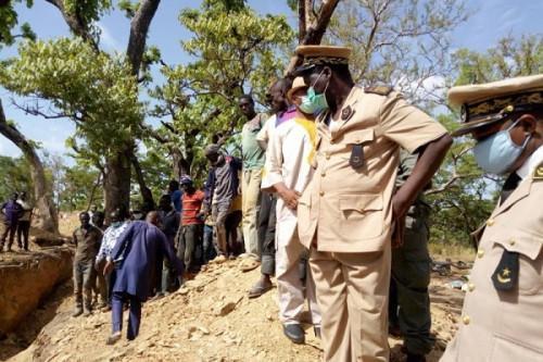 SDO at mine site,  Far North Cameroon