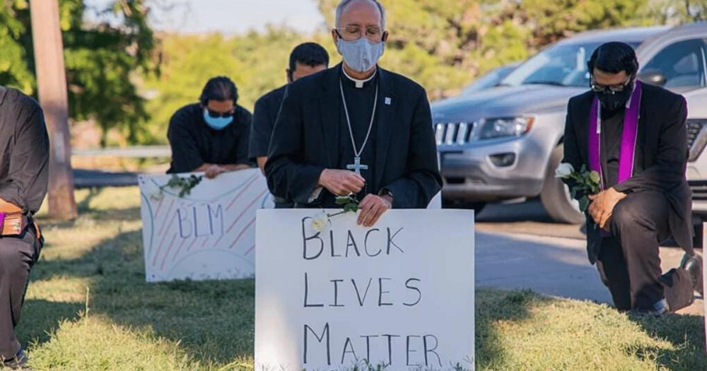 Priests Pay homage to Floyd