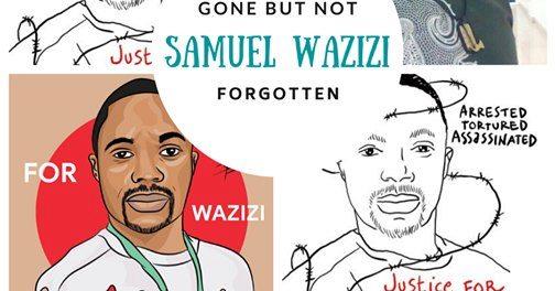 Arrested and killed journalist Wazizi