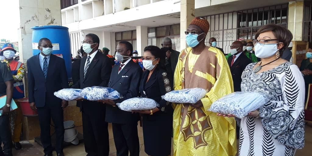 Presidential Donation of Face masks to Educational Ministries in Cameroon