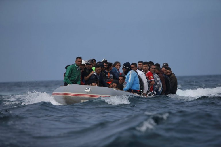 migrants on sea
