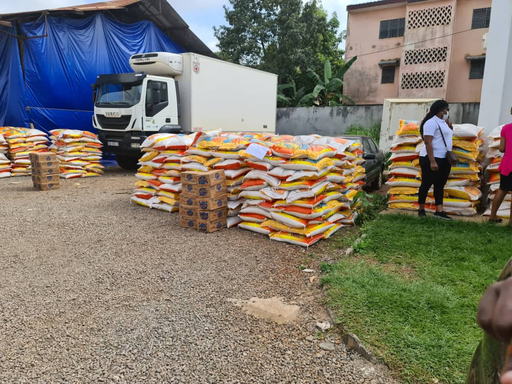 ORCA Rice Donated to Support Cameroon in the Fight Against COVID-19