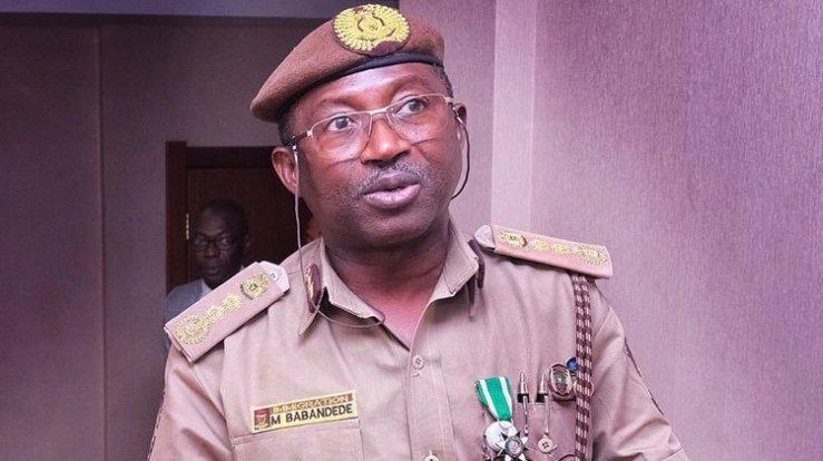 Comptroller of NIS in Cross River State, Mr Okey Ezugwu