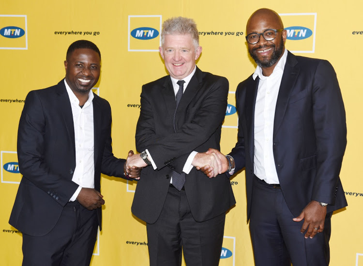MTN NEW CEO-to the left