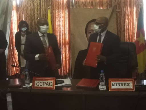 Government of Cameroon and the Central African Police Chiefs Committee-CAPCCO have signed a headquarters follow up agreement that makes Cameroon seat of the committee