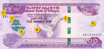 Ethiopia intorduces new bank notes