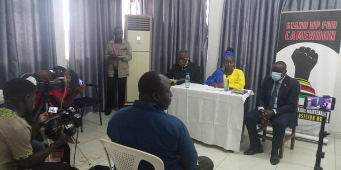 Stand Up for Cameroon Press Conference in Douala