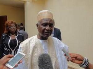 Minister of Tourism and Leisure Bello Bouba Maigari
