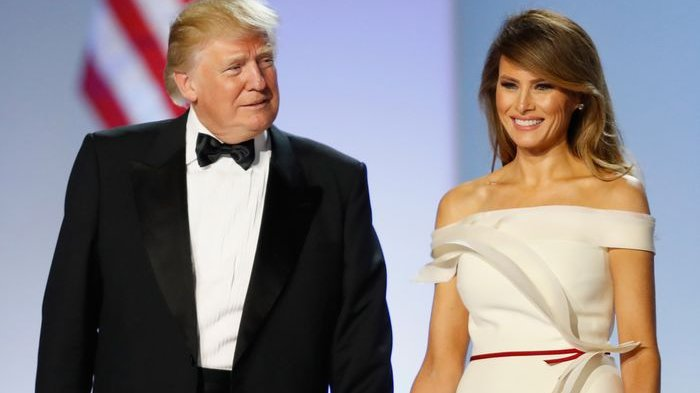 US President and Wife