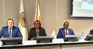 Mariatou Yap, Director of Civil Protection at the Ministry of Territorial Administration (MINAT) elected as the Secretary General of the International Civil Defense Organization (ICDO).