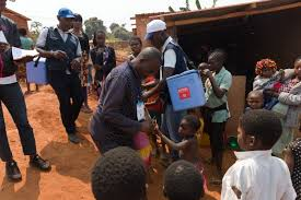 vaccination campaign against polio virus in Cameroon