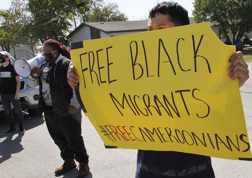 Cameroon-Us asylum seekers