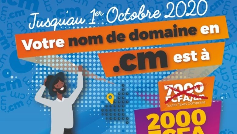 The XAF2, 000 registration for the Cameroon's ccTLD was to boost the number of .cm users.