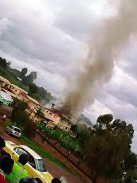 fire incident that happened last Friday at the Command Post of the Bamenda Territorial Gendarmerie Unit, in the North West Region of Cameroon