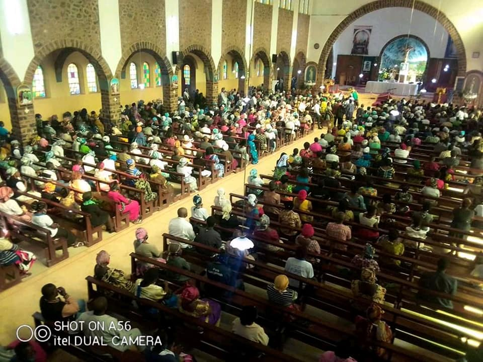 Cameroon-Kumbo Diocese: Bishop Leads Christians in  Prayerful Walk, Holy Mass, for Return to Peace