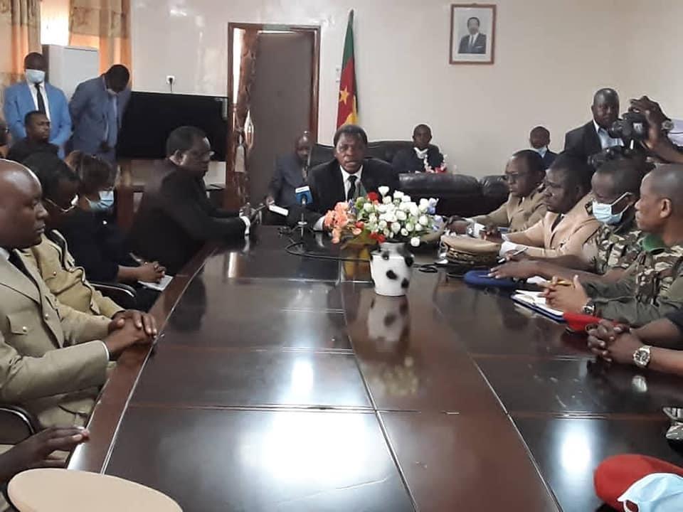 interministerial team in Kumba