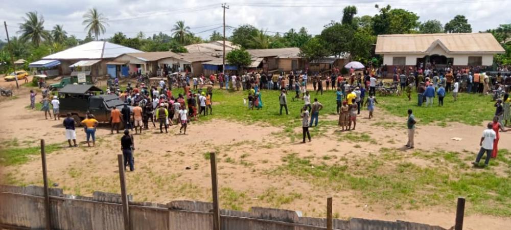 kumba massacre scene
