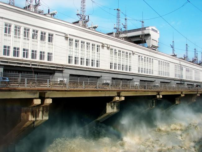 Chollet Hydroelectricity Dam