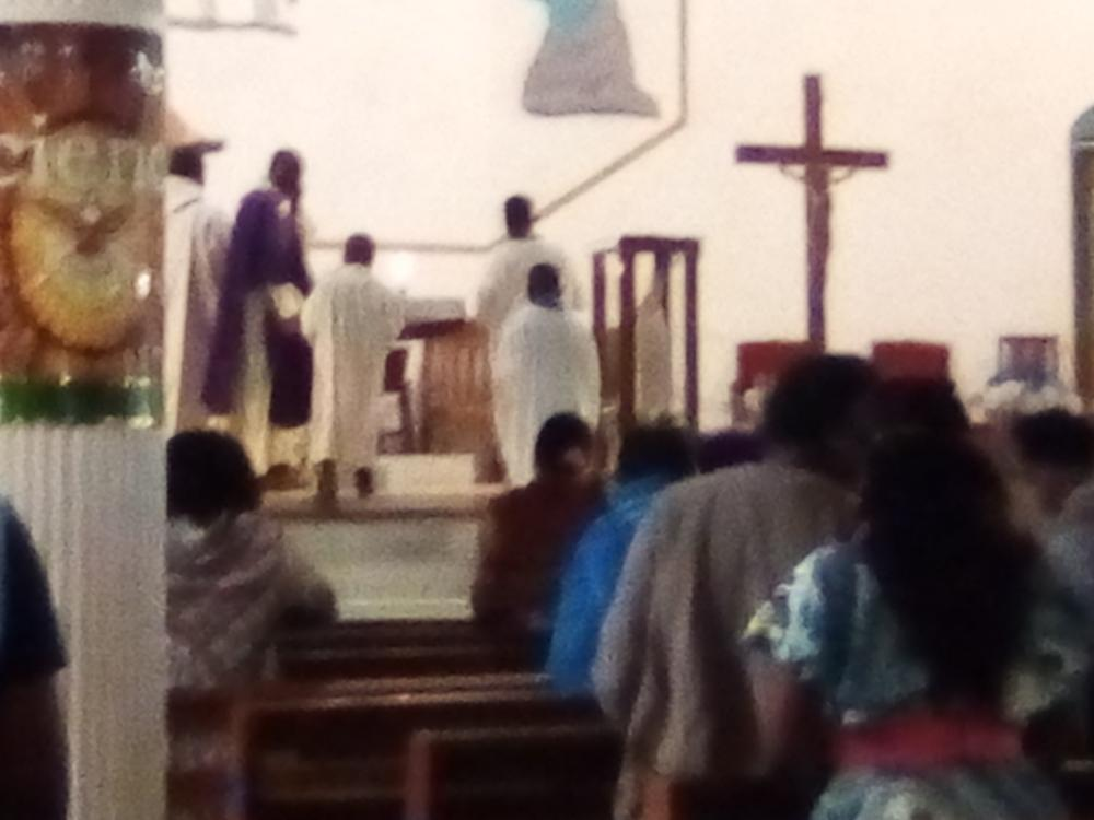 Holy Mass for the Kumba Massacre at St. Anuarite Parish Biyem-Assi