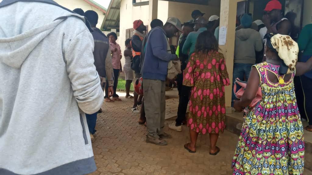 Kumba massacre mourners