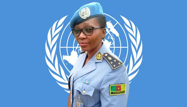 the 2020 United Nations Police Officer Prize is Rebecca Nnanga, Cameroonian police commission