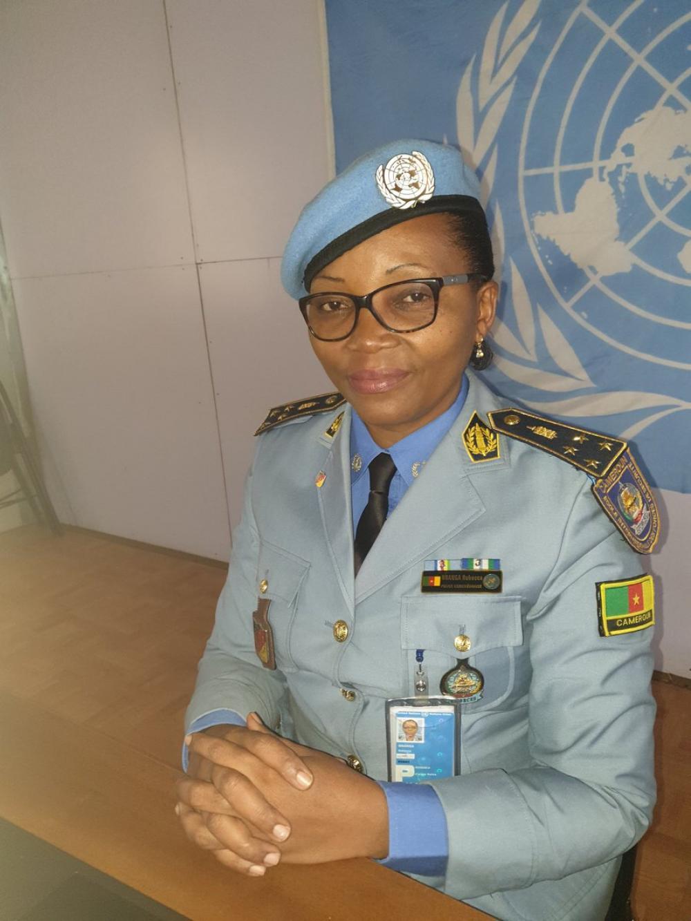 Rebecca Nnanga, Cameroonian police commissioner