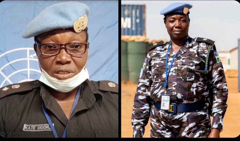 Nigerian norminee 2020 United Nations Police Officer Prize