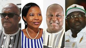 Candidates for Burkina Faso Presidential Elections