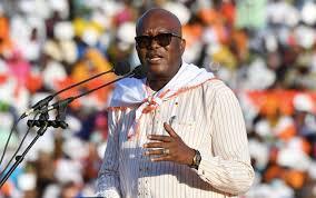 Burkina Faso's President Roch Marc Christian Kaboré