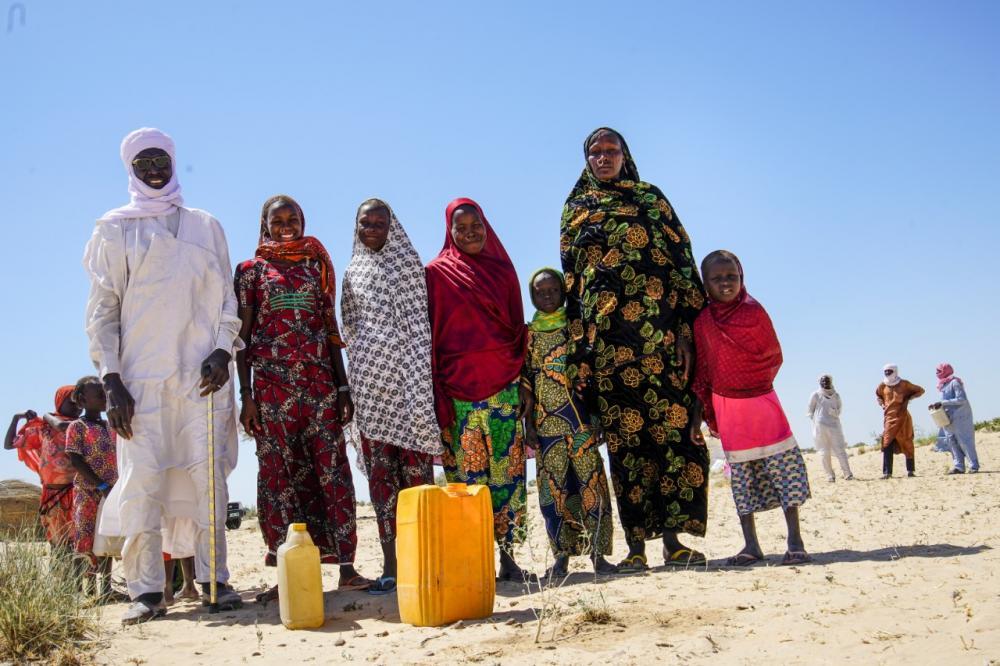 Lake Chad Displaced Population