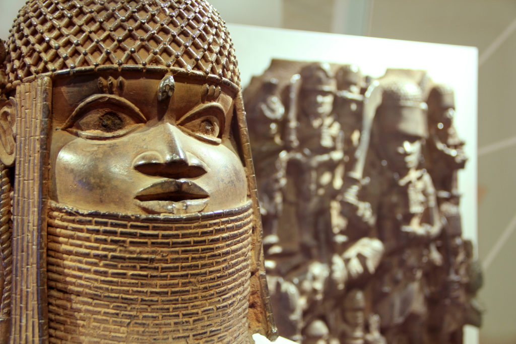 Looted arts from Nigeria
