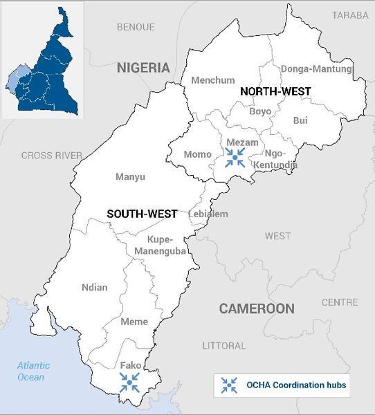 North West and South West Cameroon