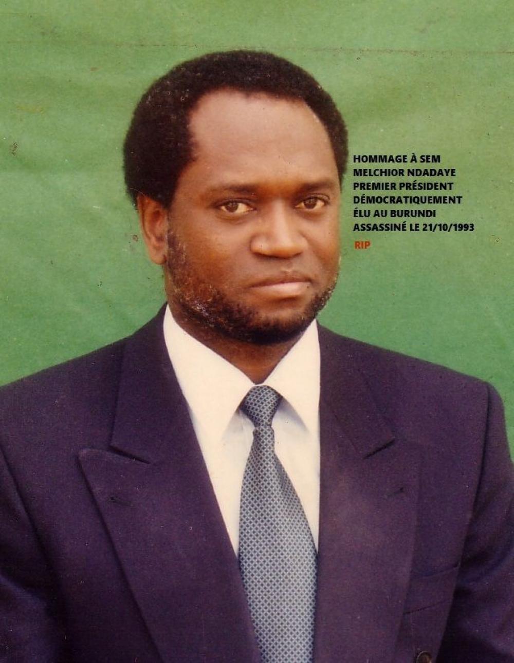 President Melchior Ndadaye