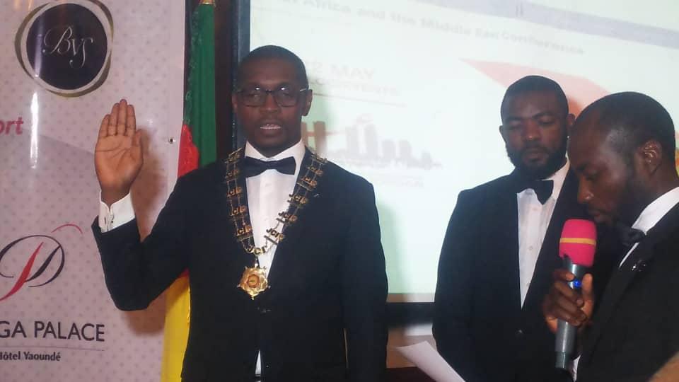 Antoine Yannick Mbassi, JCI Cameroon  President 2021