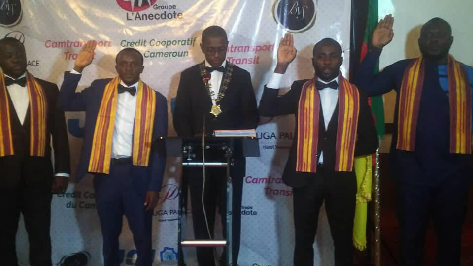 JCI Cameroon leaders for 2021