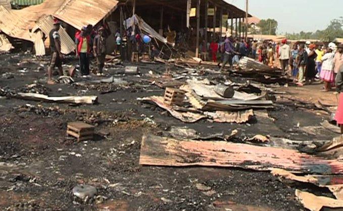 Fire burns Nkwen market