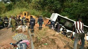 Road Accident in West Region of Cameroon