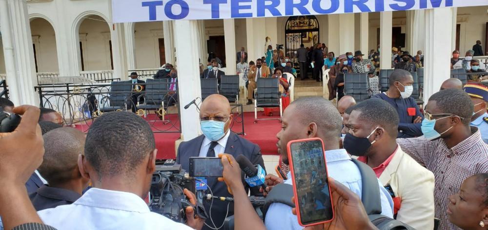 lebialem protest at Yaounde Meseume