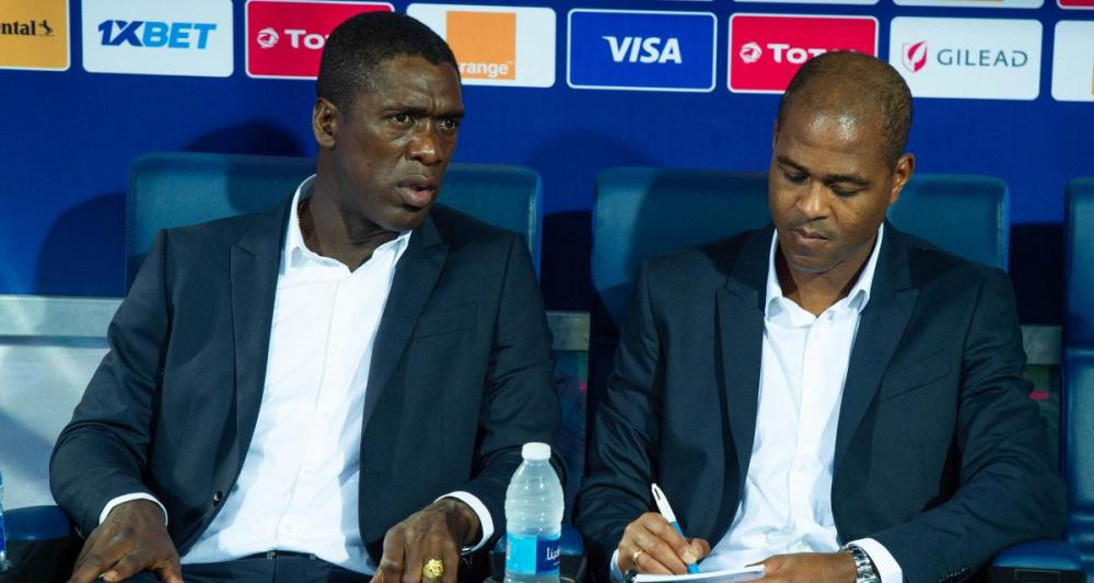 Clarence Seedorf and Patrick Kluivert