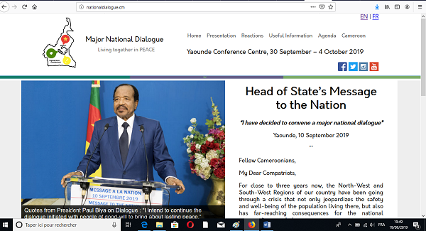 NATIONAL DIALOGUE WEBSITE