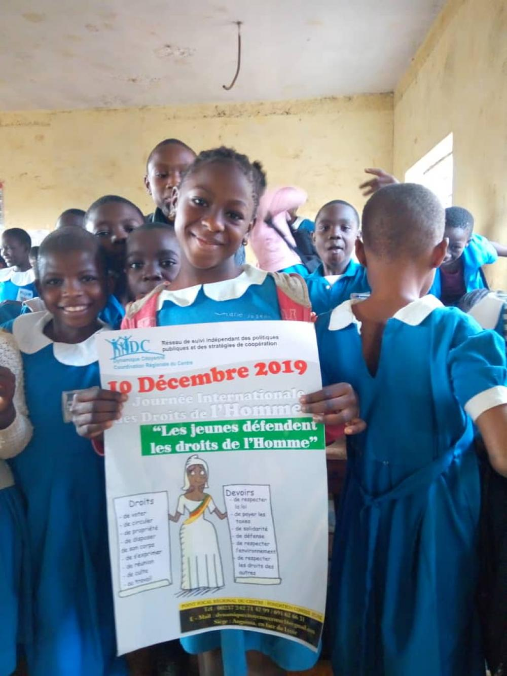 PUPILS sensitized on basic human rights by DC
