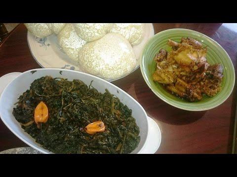 Fufu Corn, Vegetable and Kahti kahti